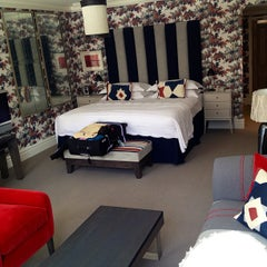 Photo taken at Soho Hotel by Katy P. on 7/25/2013