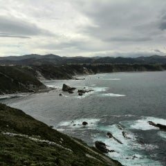 Photo taken at Faro de Cabo Vidio by Carolina L. on 5/1/2015