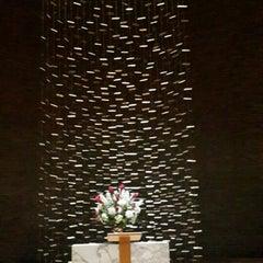 Photo taken at MIT Chapel (Building W15) by Shweta N. on 6/7/2015