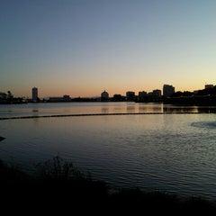 Photo taken at Lake Merritt by Kenneth M. on 4/17/2013
