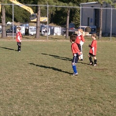 Photo taken at Lake Taylor Soccer Field by Bill M. on 11/3/2012