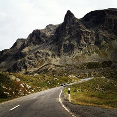 Photo taken at Julierpass by Miguel G. on 9/27/2012