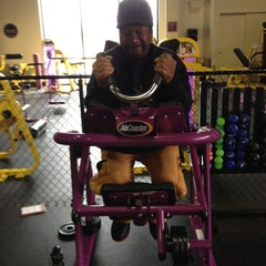 Photo taken at Planet Fitness by Kristin on 4/30/2013