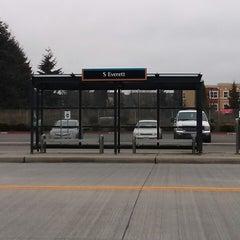 Photo taken at S. Everett Park & Ride by Kaelisa V. on 1/19/2014