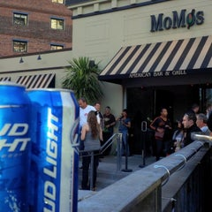 Photo taken at MoMo's Restaurant by John B. on 4/10/2013