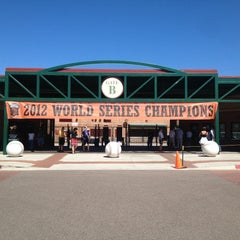 Photo taken at Scottsdale Stadium by Jose on 3/12/2013