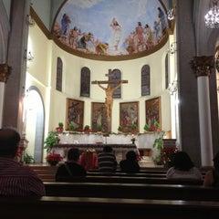 Photo taken at Iglesia Santa Eduvigis by Sandra on 1/13/2013