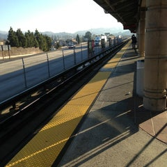 Photo taken at Castro Valley BART Station by Bob S. on 2/1/2013