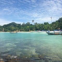 Photo taken at Phi Phi Island Village by Albert L. on 7/24/2013