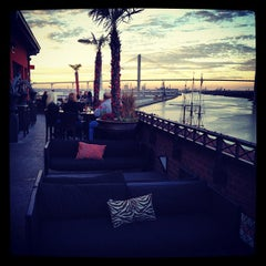 Photo taken at Bohemian Hotel Rocks on the Roof by Billy C. on 11/26/2012