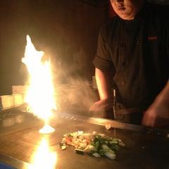 Photo taken at Tokyo Japanese Steak House & Sushi Bar by Melissa on 3/2/2013