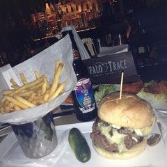 Photo taken at Plan B Burger Bar by Lori on 2/28/2013