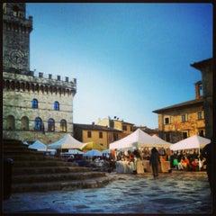 Photo taken at Piazza Grande by alsim on 4/13/2013