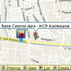 Photo taken at KCU. Bank Central Asia (BCA), Kalimalang by Asep S. on 5/28/2013