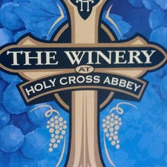 Photo taken at The Winery at Holy Cross Abbey by Travis C. on 7/1/2013
