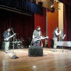 Photo taken at Teatro Municipal de San Lorenzo by Sarah C. on 11/4/2012
