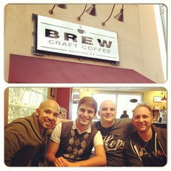 Photo taken at Brew Craft Coffee by Nico on 2/18/2013