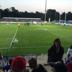 "Photo taken at Stadionul Național de Rugby ""Arcul de Triumf"" by Liviu S. on 6/12/2015"