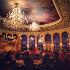 Photo taken at Be Our Guest Restaurant by Alissa C. on 12/18/2012