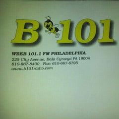Photo taken at More FM Studios (WBEB-FM) by Robin J. on 10/11/2012