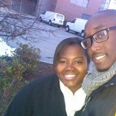 Photo taken at Clark University - Blackstone Hall by Ricky L. on 11/12/2012