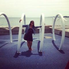 Photo taken at Beachfront Park by Toast on 6/7/2015