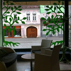 Photo taken at Greentree Caffé by Andras D. on 11/3/2012