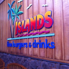 Photo taken at Islands Restaurant by Greg on 12/22/2012