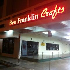 Photo taken at Ben Franklin Crafts by Greg on 10/25/2012