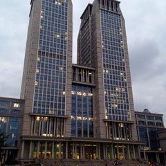Photo taken at 复旦大学   Fudan University by Bolor B. on 10/21/2014