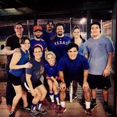 Photo taken at Houston Sportplex by Jose P. on 5/13/2014