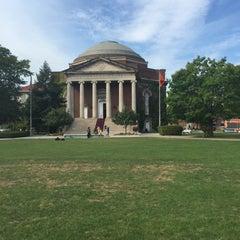 Photo taken at Syracuse University Quad by Bob G. on 9/25/2015
