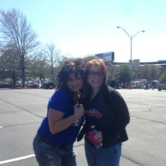 Photo taken at Turner Field - Gold Lot by Nancy G. on 4/1/2013