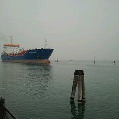 Photo taken at Porto Fusina by Massimo B. on 10/20/2013