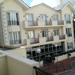 Photo taken at Hotel Torrelodones by Alicia on 10/12/2012