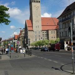 Photo taken at Rathaus Berlin-Neukölln by Betül Y. on 5/12/2013