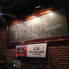 Photo taken at Fontaine's Oyster House by Zach on 10/26/2013