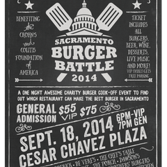 Photo taken at Sacramento Burger Battle 2015 by Sacramento Burger Battle 2015 on 8/27/2014