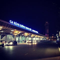 Photo taken at Tan Son Nhat International Airport (SGN) Sân Bay Quốc Tế Tân Sơn Nhất by Long T. on 10/23/2012