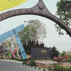 Photo taken at Universitas Sebelas Maret by Jidat Y. on 8/26/2015