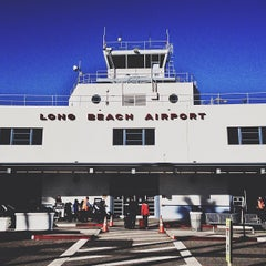 Photo taken at Long Beach Airport (LGB) by Kristin S. on 1/31/2013