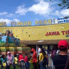 Photo taken at Jawa Timur Park 1 by Reni M. on 7/6/2013