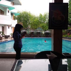 Photo taken at Hotel Matahari by Yopie P. on 3/17/2014