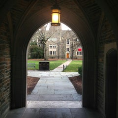 Photo taken at Duke University by Jinny K. on 12/29/2012