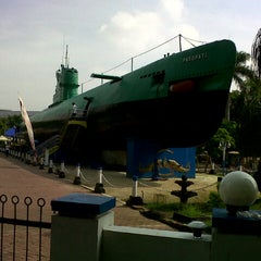 Photo taken at Monumen Kapal Selam by anni s. on 12/31/2012