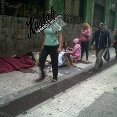 Photo taken at Rua Sete de Abril by Frankie R. on 1/12/2013