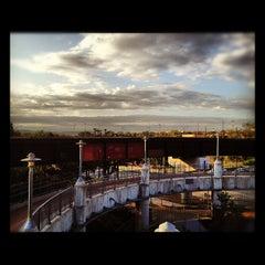 Photo taken at Pfluger Pedestrian Bridge by Tomoko J. on 10/26/2012