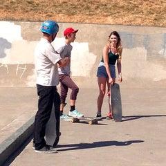 Photo taken at Gabriel Skate Park by December on 6/21/2015