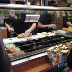 Photo taken at SUBWAY by Alex G. on 1/25/2013