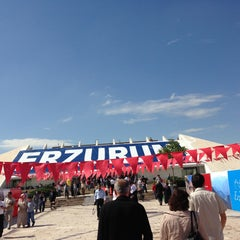 Photo taken at Atatürk Kültür Merkezi by X on 5/11/2013